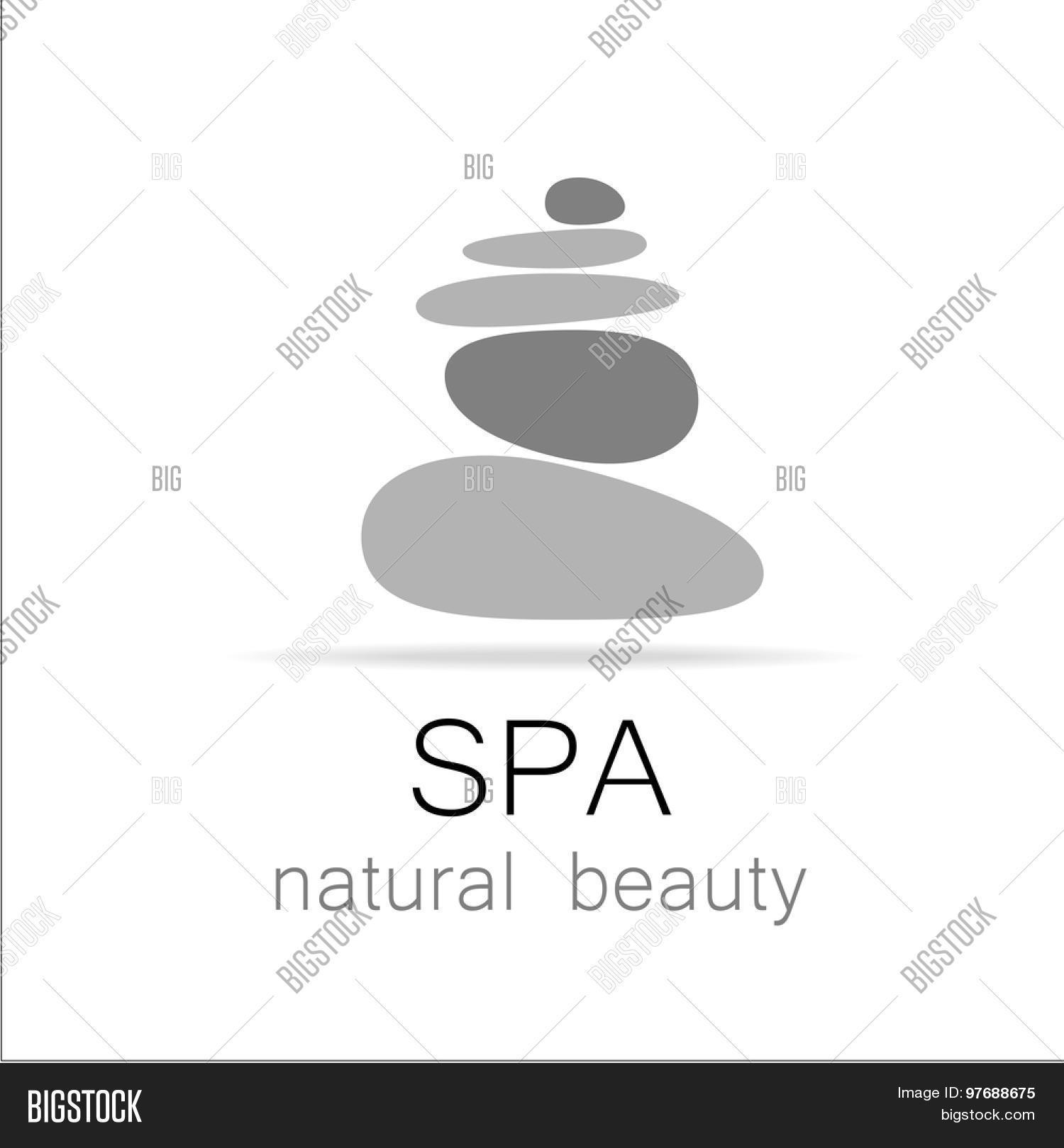Spa Template Logo Vector Photo Free Trial Bigstock