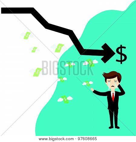 Businessman Failure Finance