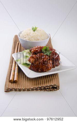 pork sweet and sour pork saia food
