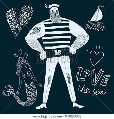 Mighty sailor pirate