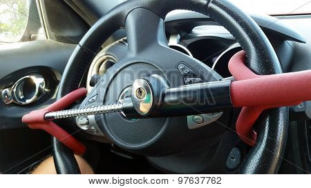 Anti-theft Car Steering Wheel Lock