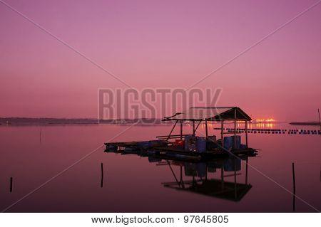 Sunrise On Fisherman Jety