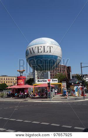 highflyer, hiflyer hot air balloon, berlin, germany