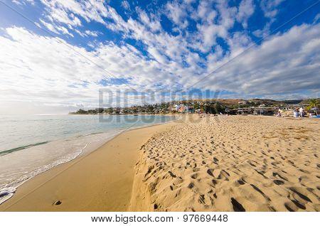 Beach Of Saint Gilles, Reunion Island