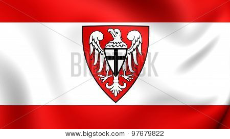 Flag Of Hochsauerlandkreis, Germany.