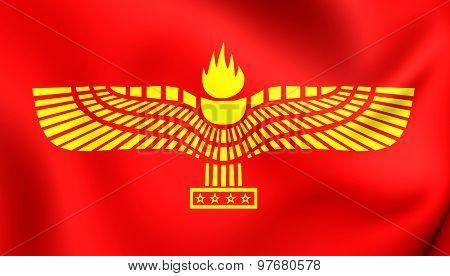 Flag Of Syriac-aramaic People