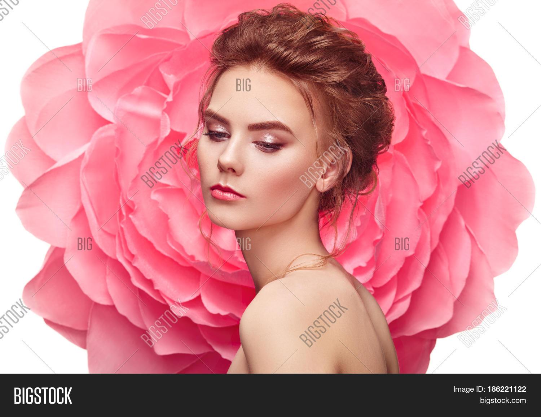 Beautiful Woman On Image Photo Free Trial Bigstock