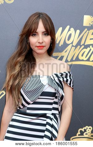LOS ANGELES - MAY 7:  Lilliana Vasquez at the MTV Movie and Television Awards on the Shrine Auditorium on May 7, 2017 in Los Angeles, CA