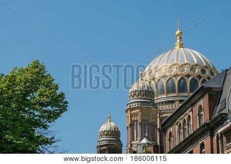The Neue Synagoge (
