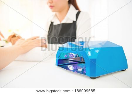 Nail Uv Light Lamp Dryer For Manicurist