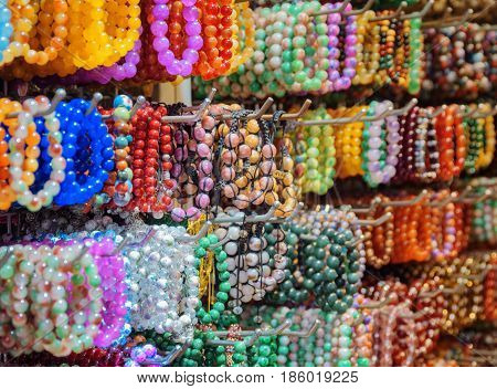 Wide Range Of Colorful Gemstone Bracelets And Bead Jewelry
