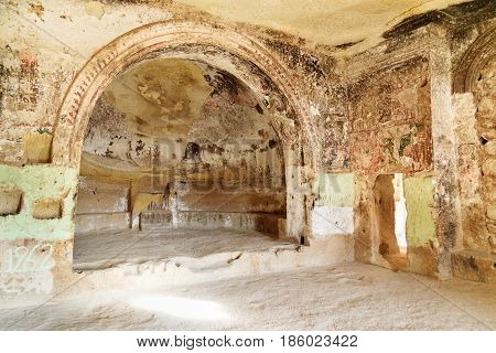 Church Of St. John The Baptist In Cavusin. Cappadocia. Turkey