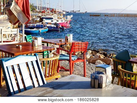 Restaurant With Sea View
