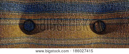Cloth, cloth with buttons, abstract cloth background