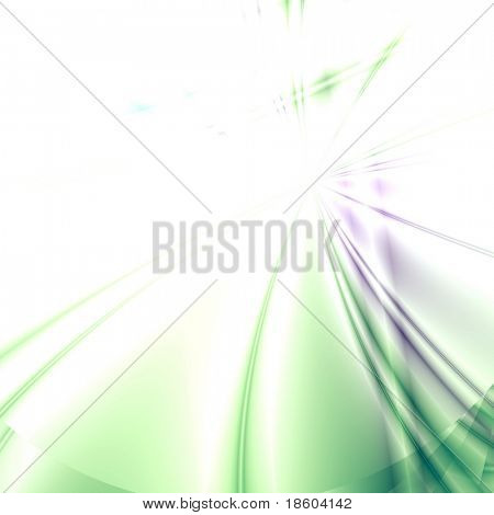 Green-lilac background illustration