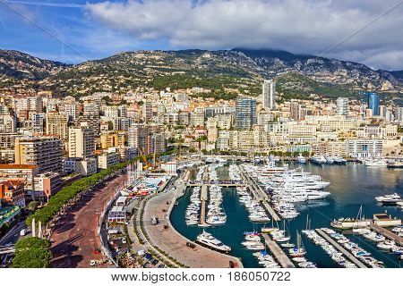 Monaco and Monte Carlo principality south of France