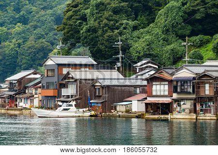 Ine cho in Kyoto of Japan