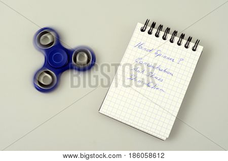 Hand Spinner, Fidgeting Hand Toy