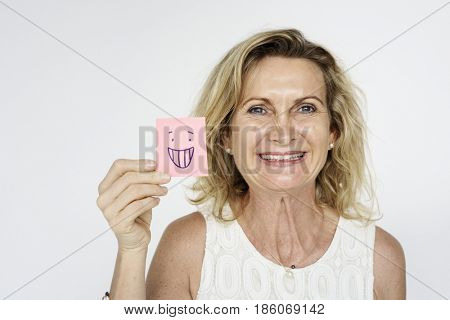 Senior Woman Portrait Studio Shoot