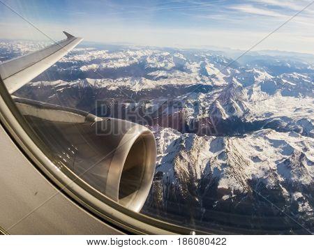 the alps in austria