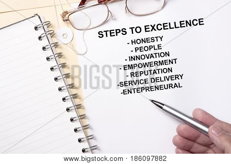 Steps To Excellence