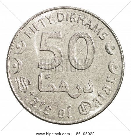 Fifty Qatar Dirhams