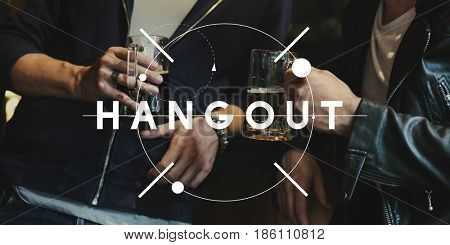 Diverse Group of Friendship Hangout Together Chill Out