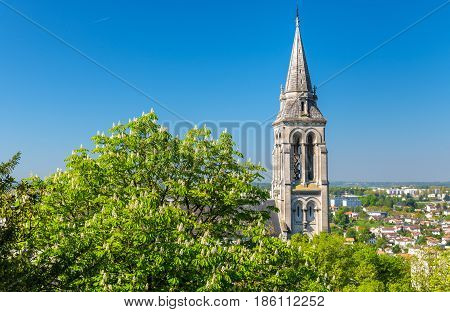 Saint Ausone Church in Angouleme - France, Charente