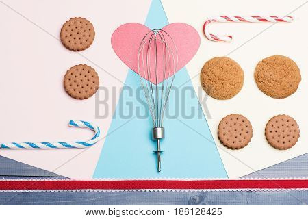 Cookies And Pink Heart