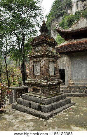 Bich Dong Pagoda In Ninh Binh, Vietnam