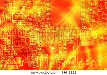 High energy - computer electronics
