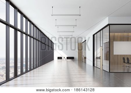Office Waiting Area With Window