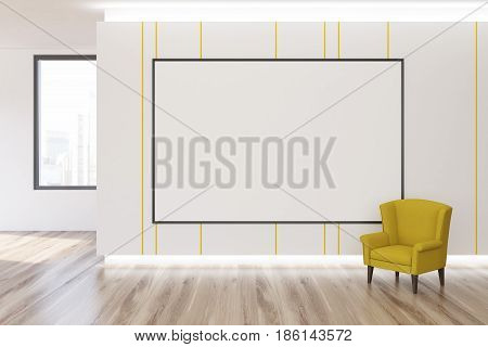Whiteboard And Armchair