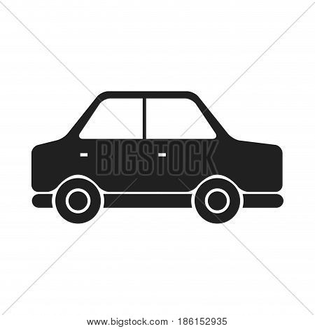 car vehicle transport motor wheel vector illustration
