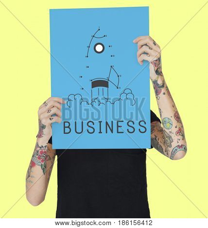 Success Strategy Startup Plan Business Icon