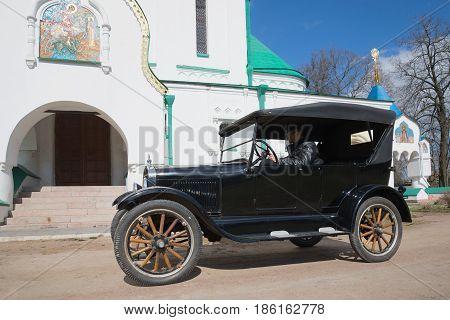 SAINT PETERSBURG, RUSSIA - MAY 04, 2017: the First mass-market car