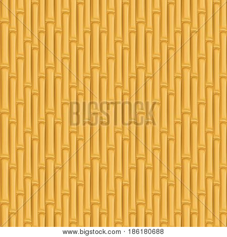 Seamless texture of the bamboo. Vector illustration.