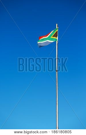 In South Africa  The  National Flag
