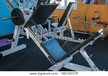 Power equipment for inflating the press in the gym