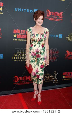 LOS ANGELES - APR 26:  Carolyn Hennesy at the NATAS Daytime Emmy Nominees Reception at the Hollywood Museum on April 26, 2017 in Los Angeles, CA