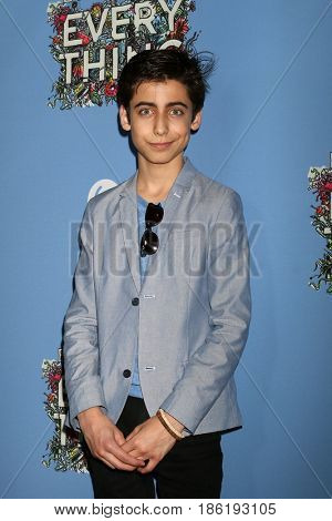 LOS ANGELES - MAY 6:  Aidan Gallagher at the