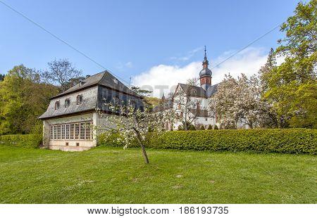 Monastery Eberbach In Eltville Am Rhein Im  Rheingau  Germany