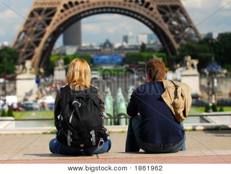Tourists In France