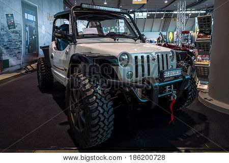 STUTTGART GERMANY - MARCH 02 2017: Buggy 1100 by Quadix. Europe's greatest classic car exhibition