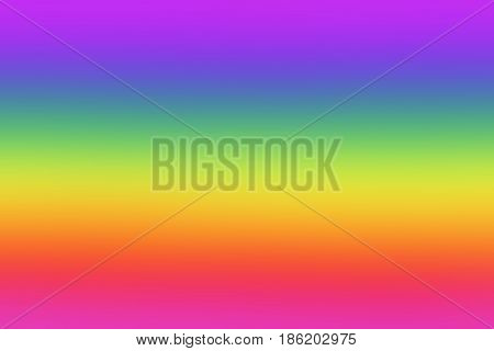 Blurred, Out of focus, Defocused, Bokeh Vibrant Rainbow-Color Abstract background