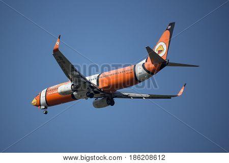 Hs-dbj Boeing 737-800 With Winglet Of Nokair