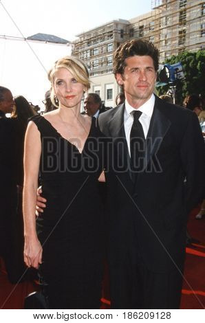LOS ANGELES - SEP 8:  Jillian Dempsey, Patrick Dempsey at the  53rd Annual Primetime Emmy Awards - Creative Arts Emmy Awards at the Pasadena Civic Auditorium on September 8, 2001 in Pasadena, CA