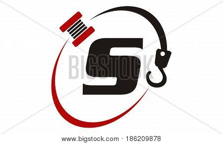 This image describe about Crane Hook Towing Letter S