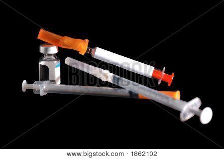 needles and medicine