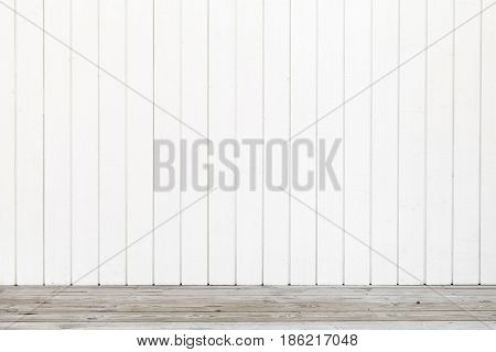 Empty Wooden Interior Background